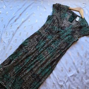 NWOT unique 2 piece Billabong dress